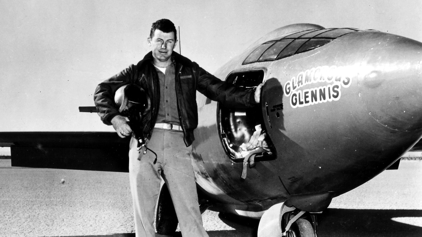 Pilot Chuck Yeager passed away at the age of 97, had the 'right things', then some died: NPR