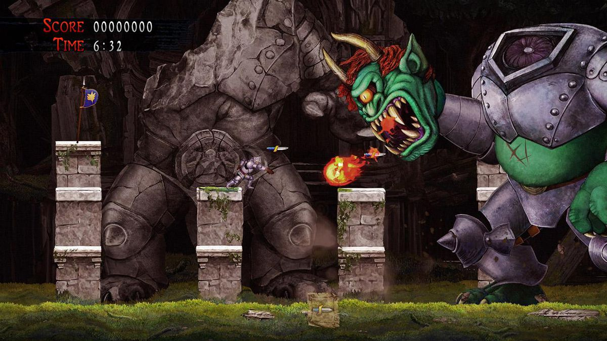 'Ghosts' n Goblins Resurrection' on the Switch isn't quite a required replay of the series