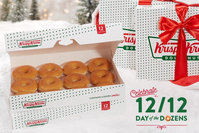 Get ten donuts for one dollar for a day of dozens
