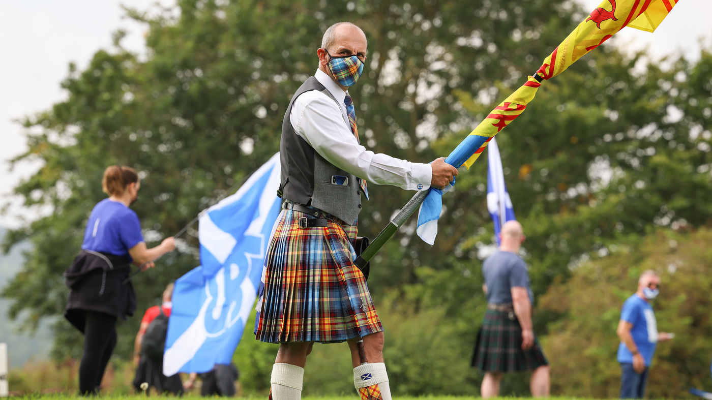 Support for Scottish independence is growing, in part due to the UK's response to COVID-19: NPR