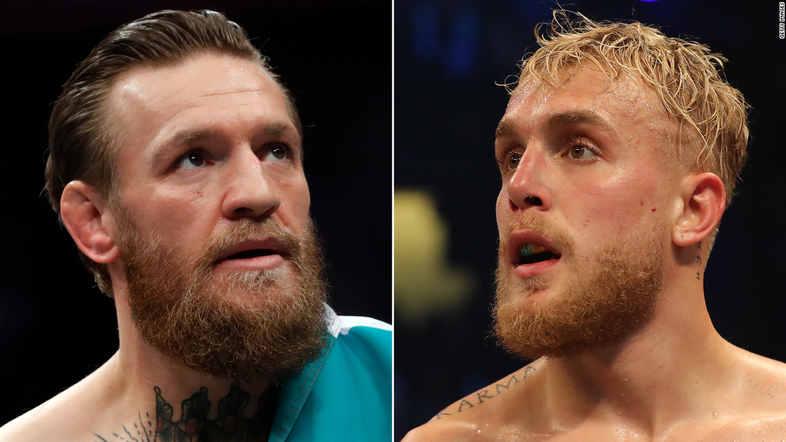 Jake Paul offered UFC fighter Conor McGregor $ 50 million for his angel