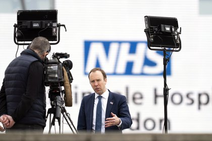 """The United Kingdom is discovering a second alternative """"More contagious"""" Of the virus.  EFE / EPA / WILL OLIVER / Archive"""