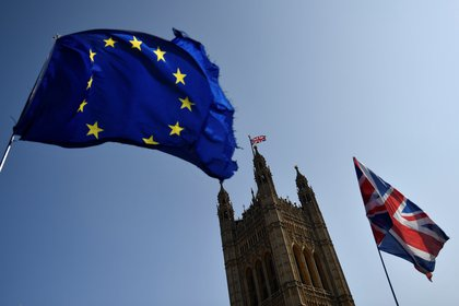 The United Kingdom left the European Union on January 31, more than 40 years after joining what was then known as the European Economic Community (EEC).  (EFE / Neil Hall / Archive)