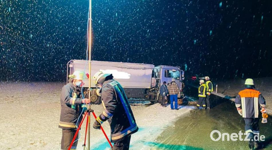 First snow accidents in the Amberg-Sulzbach region