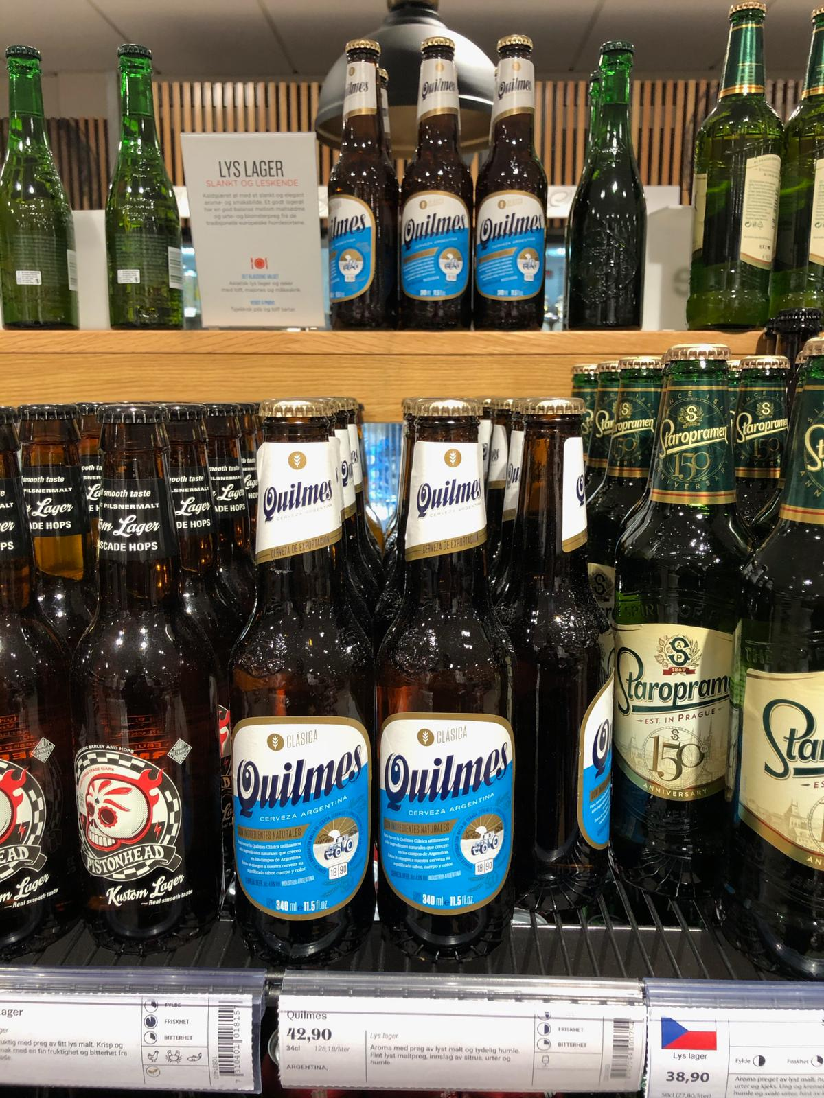 Quilmes lands in Denmark, Norway, Finland and Sweden