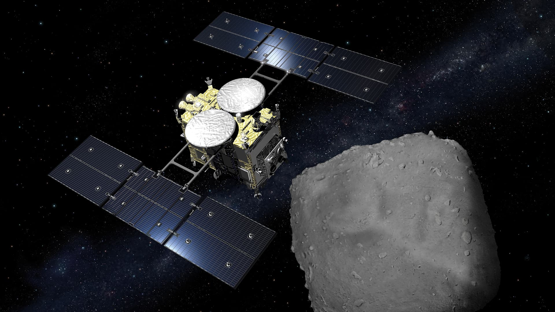 Hayabusa-2 brings in rocks and gas from extraterrestrials
