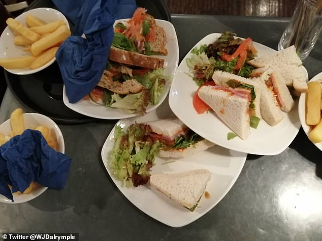"""Barman level 2 urges drinkers to """" only go to the bar if they're hungry """" after eating uneaten food"""