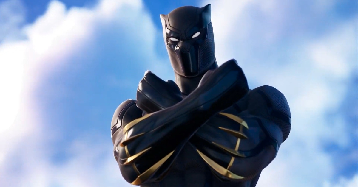 Black Panther is now available on Fortnite