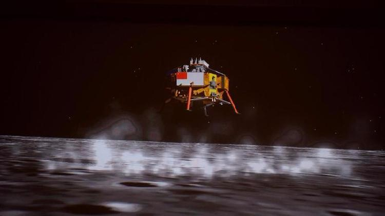 China's Chang'e-5 successfully lands on the moon