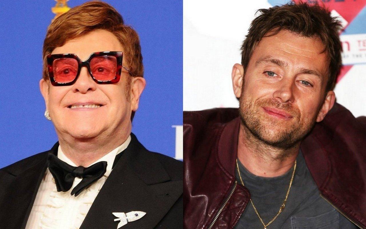 "Elton John praises ""British Jewel"" Damon Albarn for his various work"