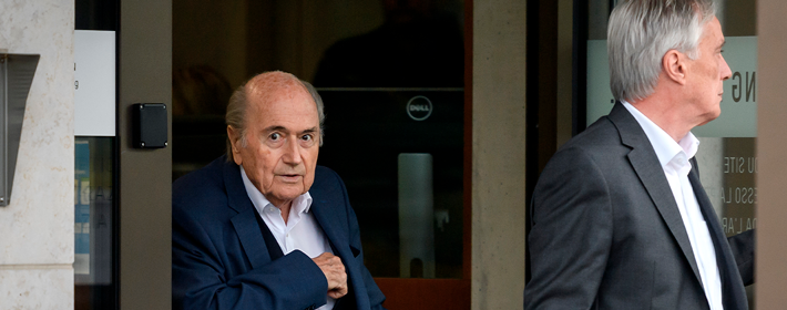 FIFA files a lawsuit against Blatter in Switzerland