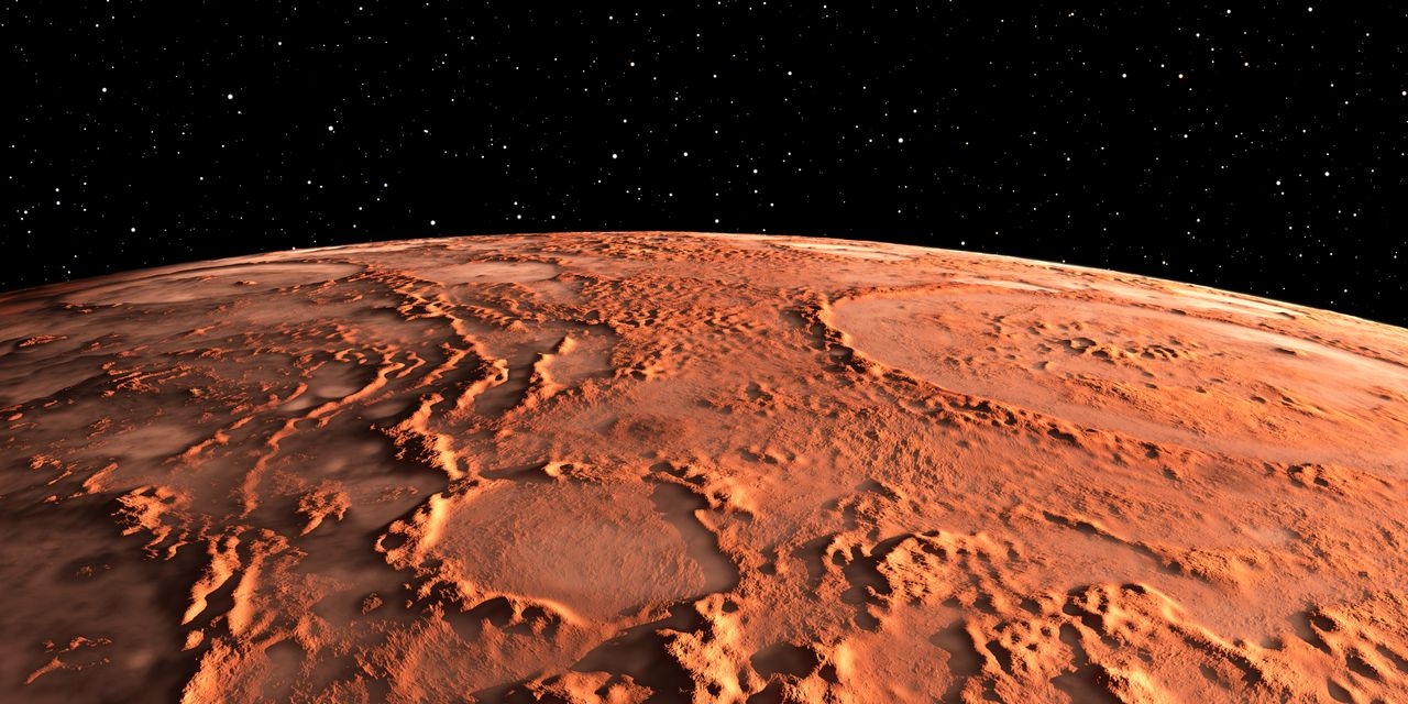 For NASA, it has to be Mars or a statue