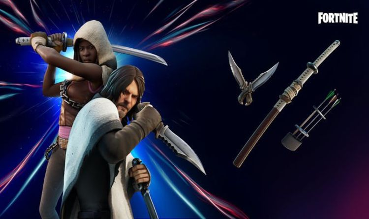 Fortnite item shop – Walking Dead Daryl and Michonne Prices, Packs and More |  Games |  entertainment