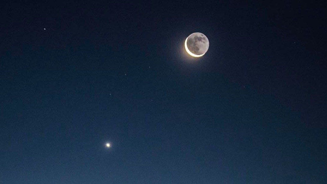 """How do you see Jupiter and Saturn in line with the 2020 """"great conjunction"""""""