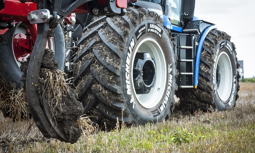 "Increasing agricultural productivity through the use of ""Ultraflex"" – an innovative Michelin technology 