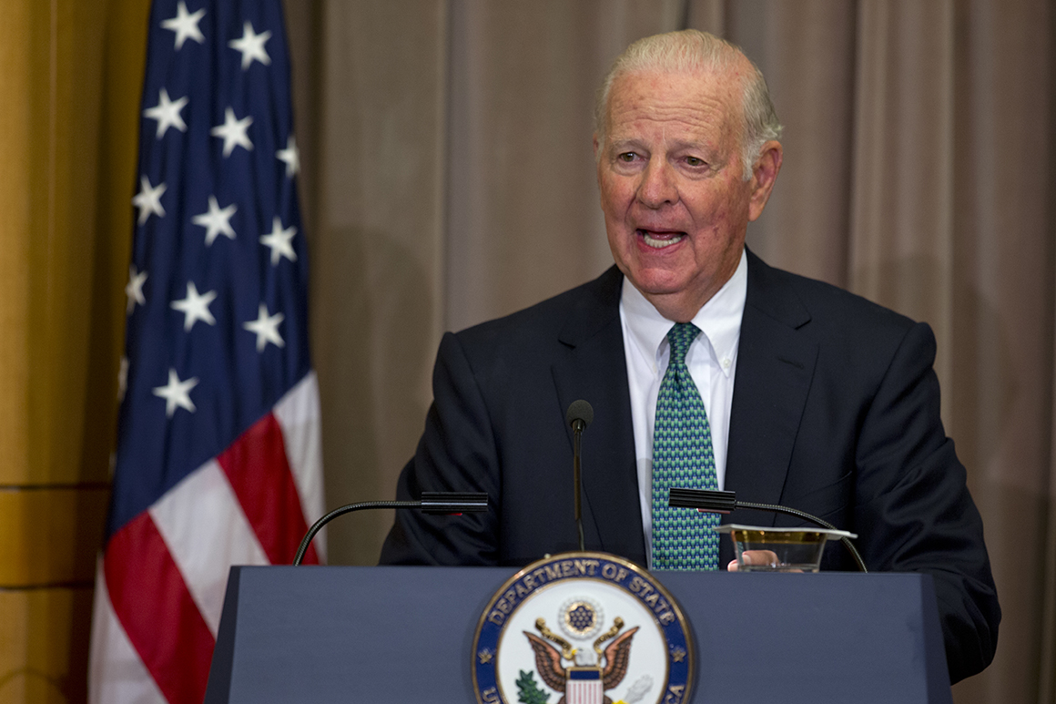 James Baker criticizes the United States' recognition of Moroccan claims to Western Sahara