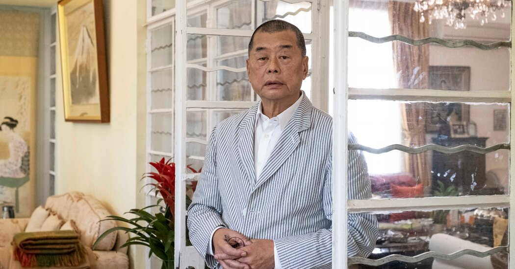 Jimmy Lai charged under the Hong Kong National Security Act