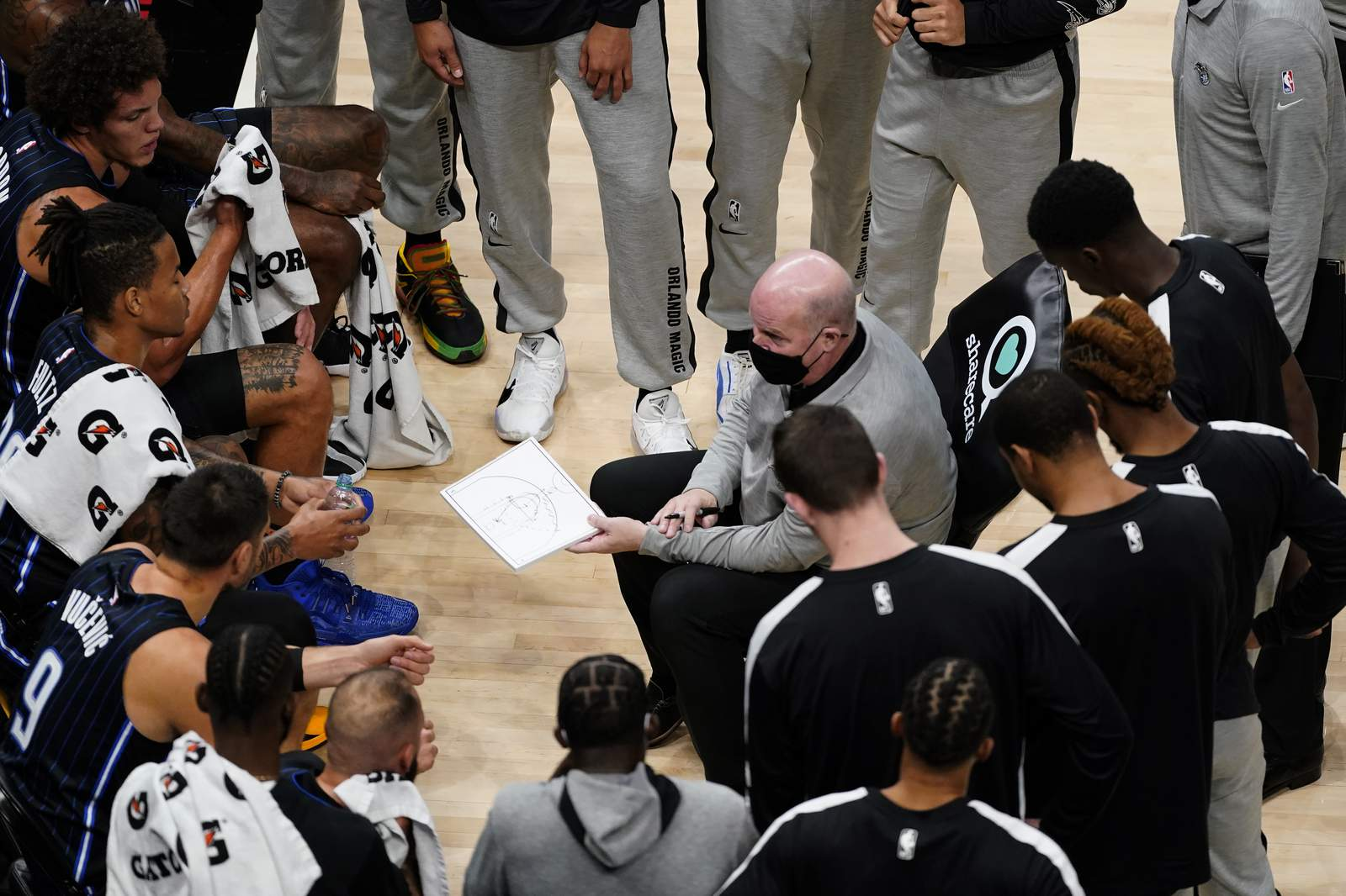 John Wall is back on Earth, opening the NBA pre-season in empty yards