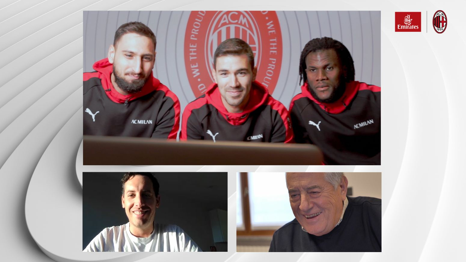Latest 2020 video call: Emirates Airlines dazzles fans around the world with the help of AC Milan, Arsenal and Real Madrid