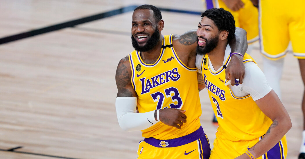 LeBron James and Anthony Davis co-star in the Lakers' Bright Future