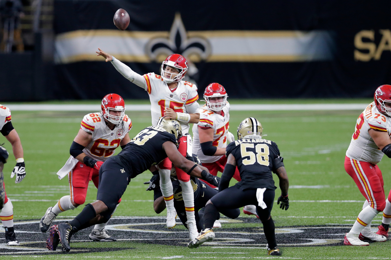 Mahomes highlights Chiefs 32-29 win over Saints |  FOX 4 Kansas City WDAF-TV