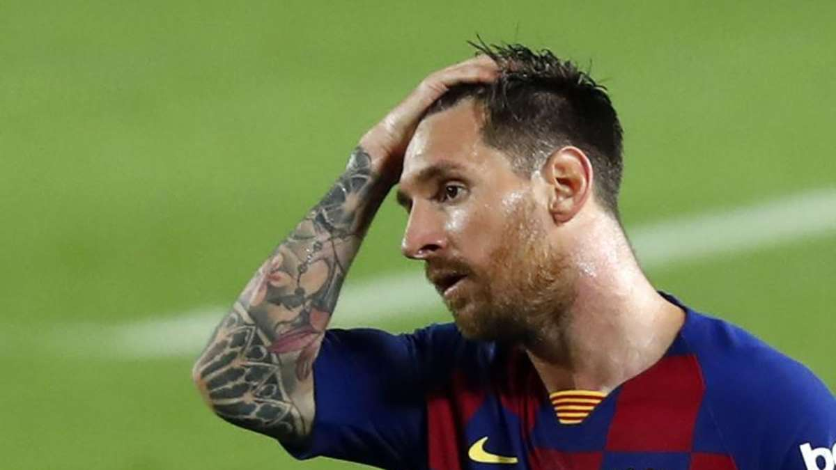 "Messi leaves the future open: ""I don't know if I'm leaving"""