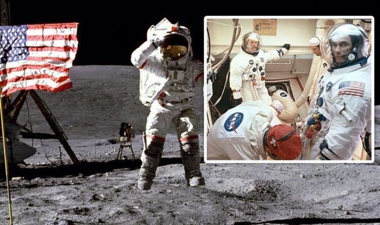 "Moon landing: A ""mysterious material"" released by NASA, a ""shaky and whistling video"" 