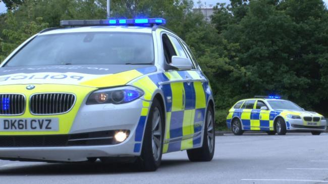 Police conduct border patrols using ANPR to deter Level 3 residents