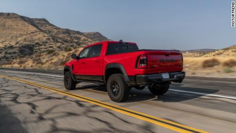 While the MotorTrend jury was impressed by the Ram 1500 TRX's off-road performance, they were also impressed with how it behaved on the asphalt.