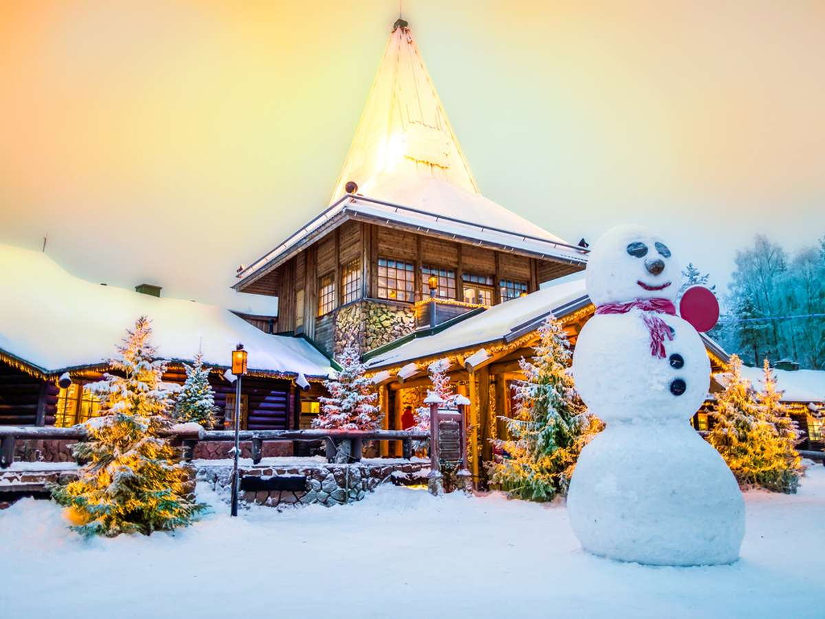Santa Claus Village in Finland: This is how Santa Claus lives – panorama