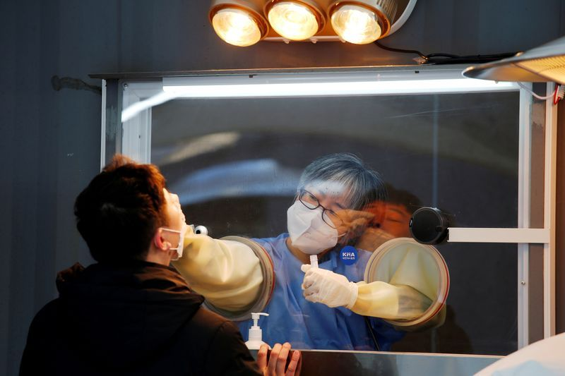 South Korea records record number of COVID-19 cases as prison reports a major outbreak