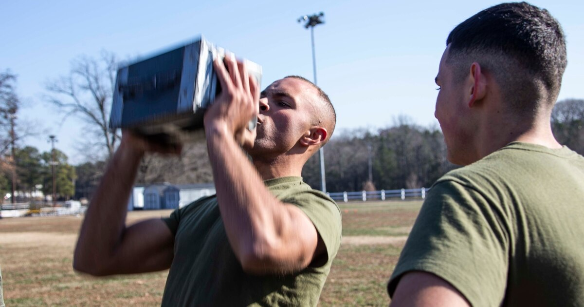 The Marine Corps cancels CFT for calendar year due to COVID concerns