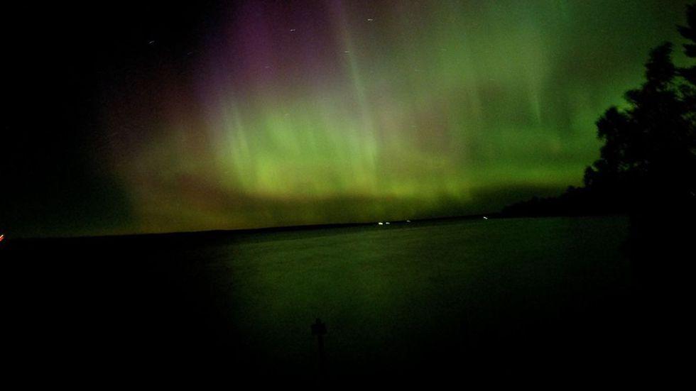 The Northern Lights may be visible as far south as Virginia