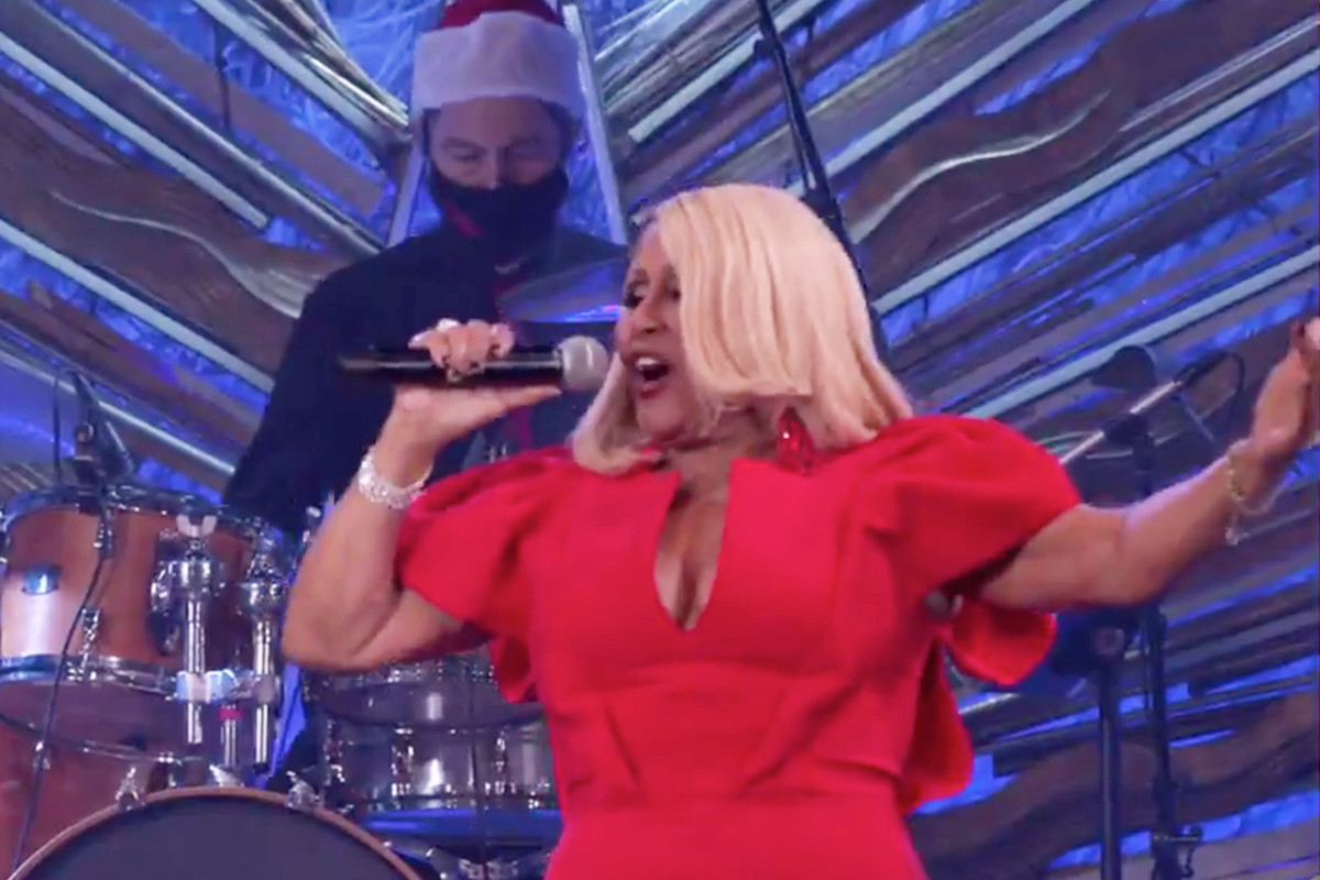 """The View concludes 2020 with its annual performance of """"Christmas (Baby Please Come Home) by Darlene Love."""""""