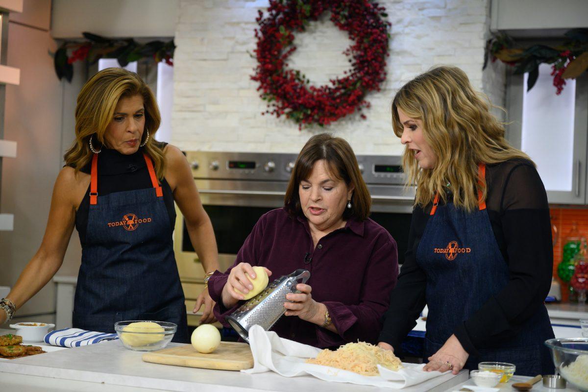 Hoda Kotb, Ina Garten and Jenna Bush Hajar on the Today show
