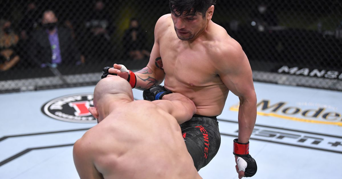 UFC Vegas 16 video: Gabriel Benitez crushes Justin Gaines with a wrecking knee
