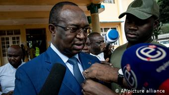 The opponent and candidate for the 2020 presidential elections in the Central African Republic, Annecy Georges Duluguilly