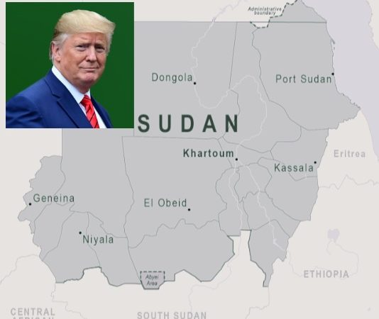 Sudan.  Signing of the Abraham agreements to normalize relations with Israel