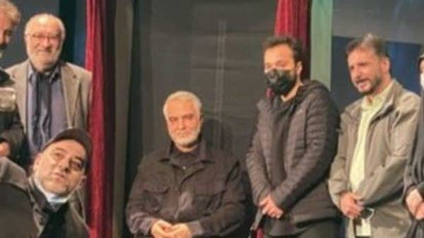 Mockery of a statue of Soleimani .. You did with it what the Americans did not do