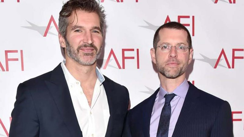 Benioff and Weiss work on a new mod for Netflix