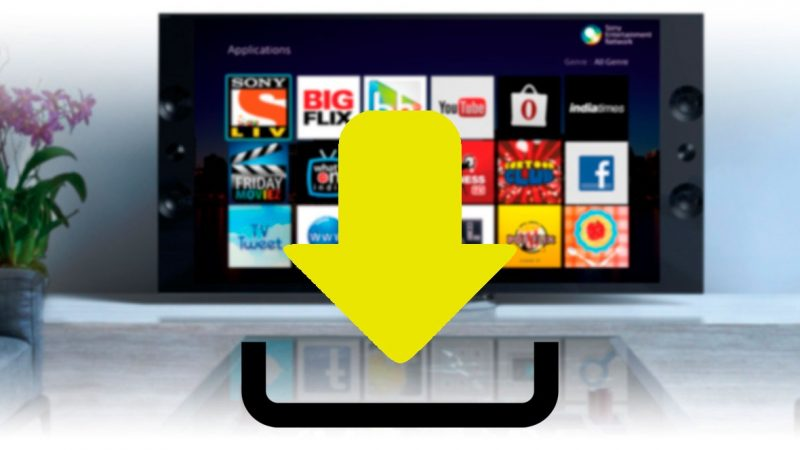 How to download applications to Sony Smart TV