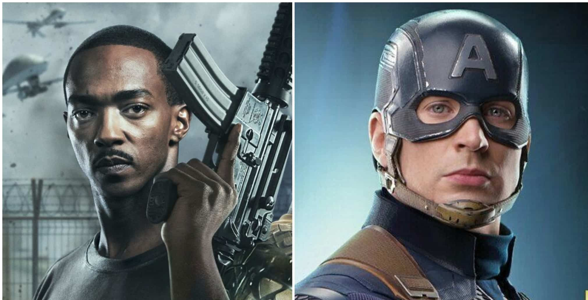 Anthony Mackie honors Captain America in new Netflix movie