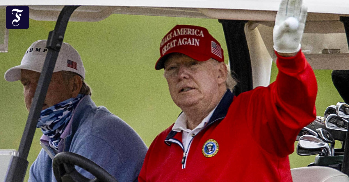 PGA championships do not take place on Donald Trump's private golf course