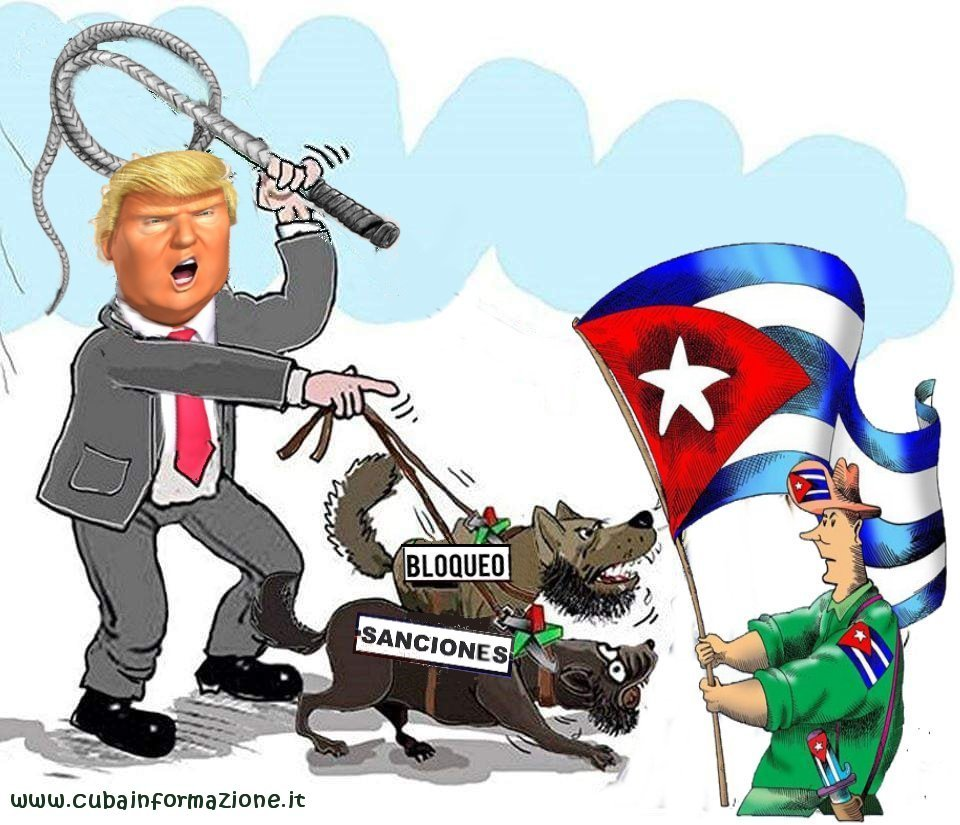 Until the last day, Trump continued to hit Cuba with criminal sanctions