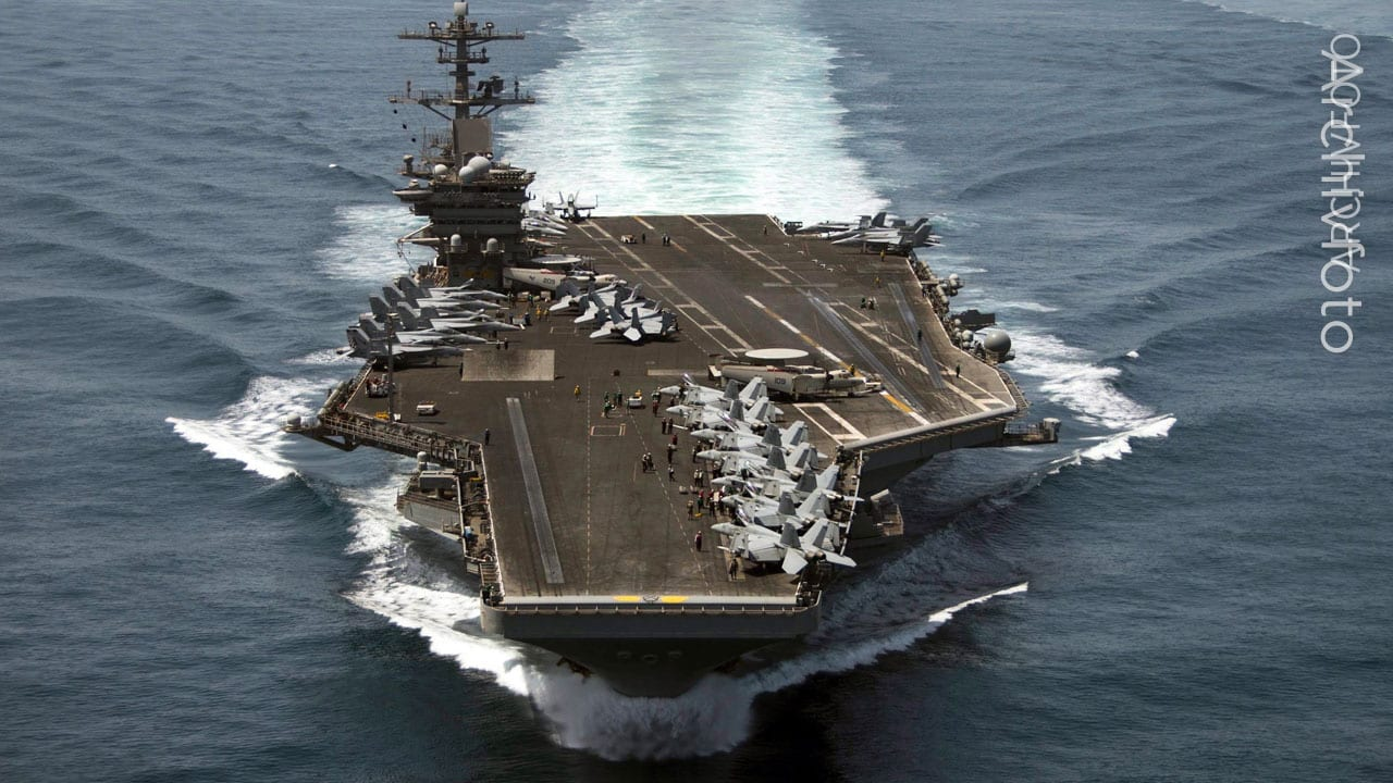 Biden's first exercise – the United States sends aircraft carriers to China – foreign policy