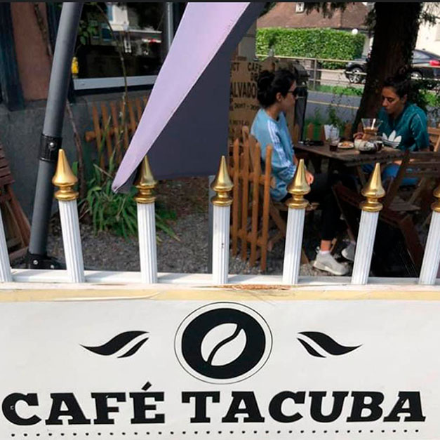 Caffe Tacuba, Embajador de El Salvador en Suiza