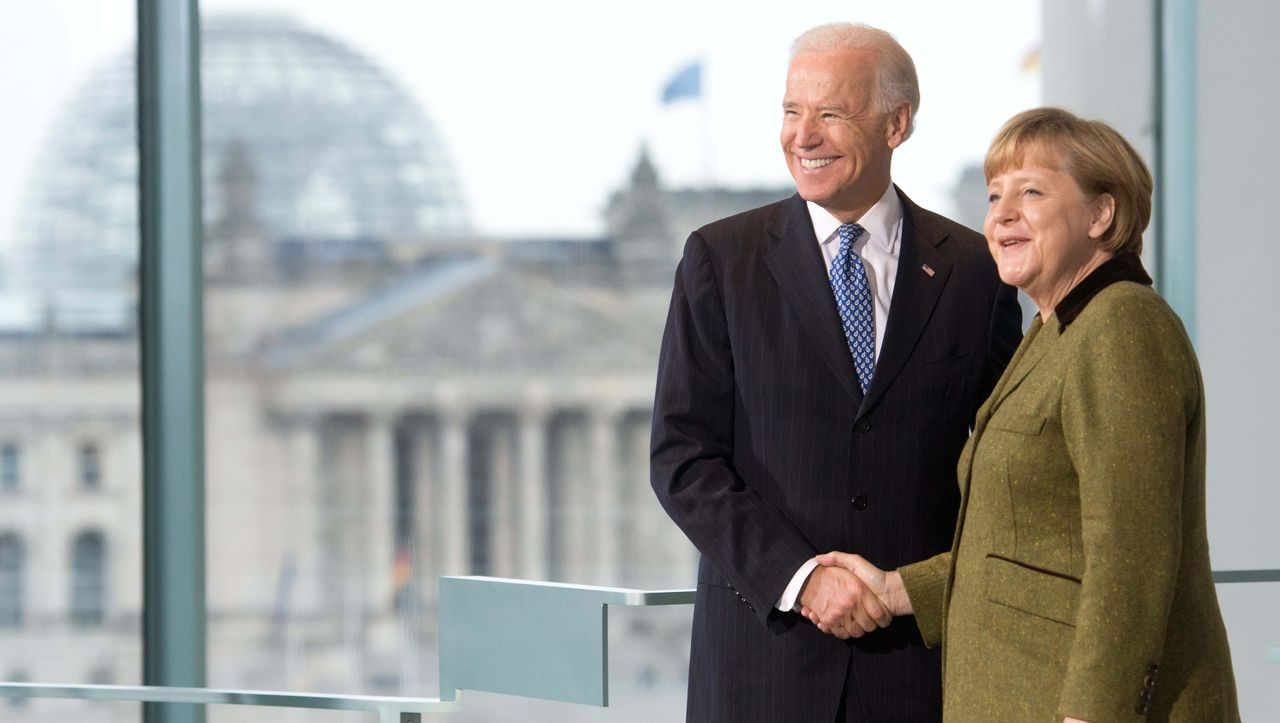 Angela Merkel expects a much better collaboration with Joe Biden Merkel