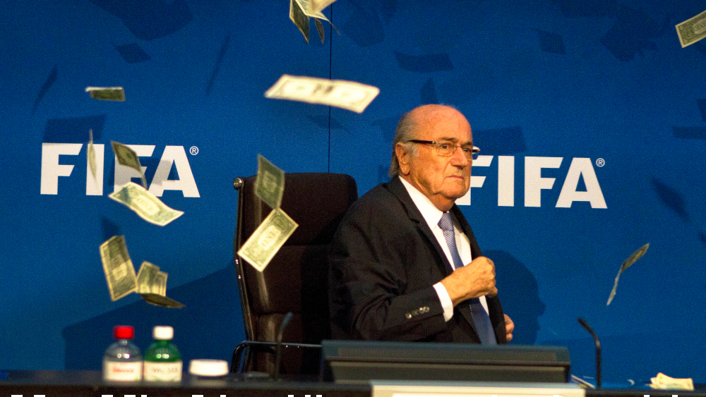 Blatter is under criminal investigation in Switzerland