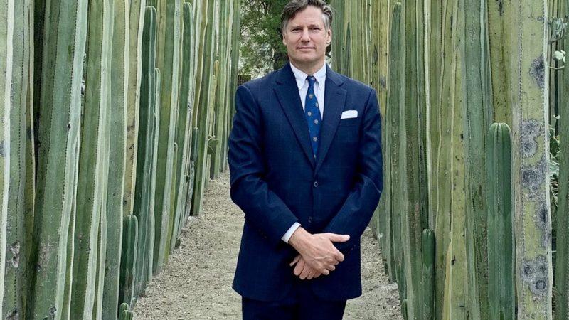 Christopher Landau y su última noche como embajador de Estados Unidos en México