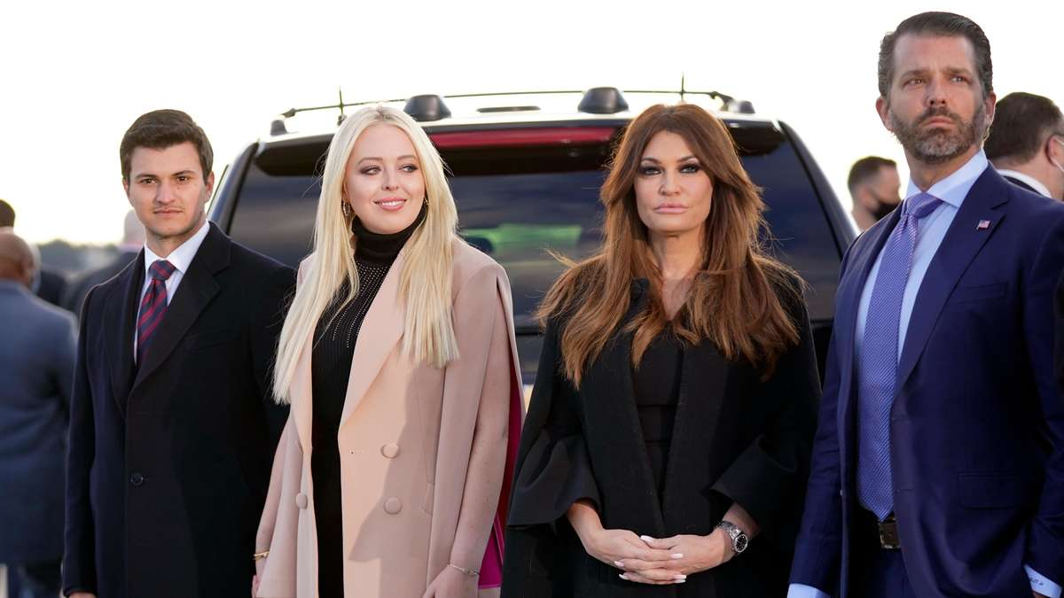 Donald Trump Jr. inherits from his father